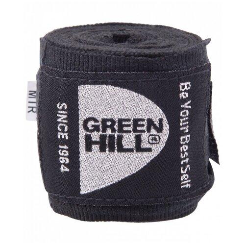 Кистевые бинты Green hill BP-6232c 3,5 м черный