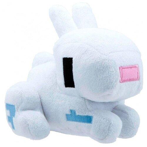 Мягкая игрушка Белый кролик Rabbit из Майнкрафт 18 см