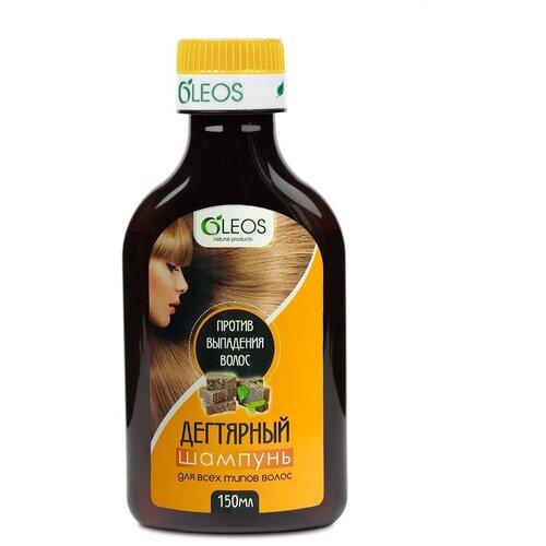 Фото - Шампунь дегтярный против выпадения волос 150мл фл Oleos твердый шампунь для волос дегтярный 80г