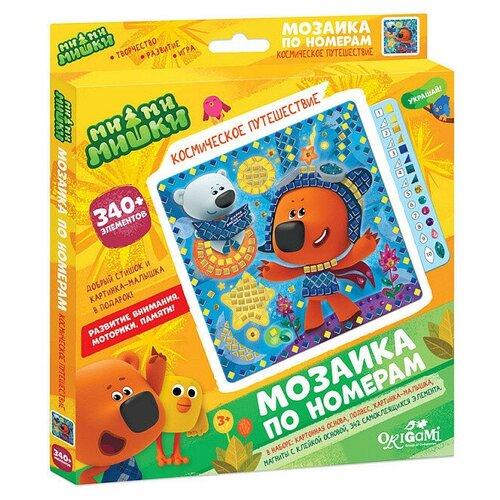 Origami Мозаика по номерам МиМиМишки Космическое путешествие (04503)