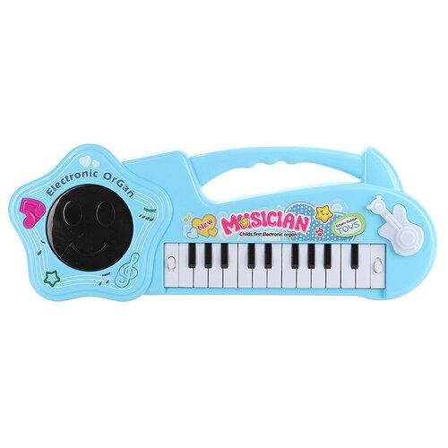 Shantou Gepai пианино 1019-1 голубой внедорожник shantou gepai 6149d dt 20 см голубой белый