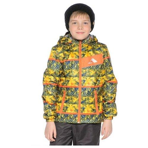 Фото - Куртка OLDOS (М) 15/OA-3JK203-2 р.98 принт синий, желтый шорты для плавания oldos размер 98 желтый синий