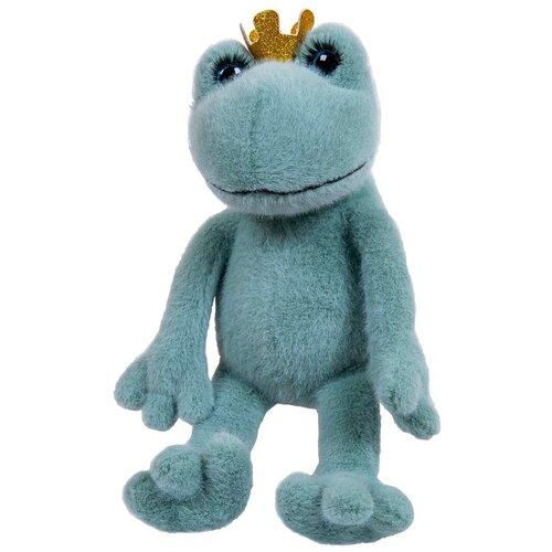 Реснички. Лягушка-царевна зеленая 20 см, игрушка мягкая