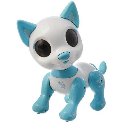 Фото - Робот 1 TOY Robo Pets Робо-пёс Т14335 белый/голубой робот 1 toy robo pets котёнок белый голубой