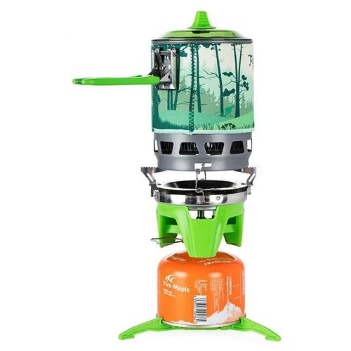 Горелка Fire-Maple STAR X3 green горелка fire maple fms 104 серебристый