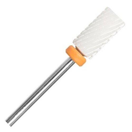 Фото - Фреза для педикюра Irisk Professional керамическая Цилиндр, диаметр 6 мм, оранжевый, металл irisk фреза керамическая цилиндр оранжевая d 6 мм