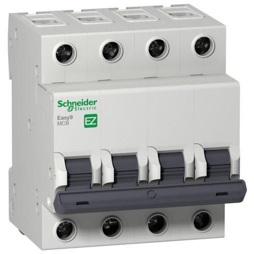 Автоматический выключатель Schneider Electric Easy 9 4P (C) 4,5kA 50 А автоматический выключатель schneider electric ez9f34416 easy 9 4p 16a c