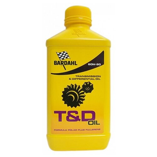 Масло трансмиссионное T&D 80W90 Oil Slip Formula 1л 422140, шт