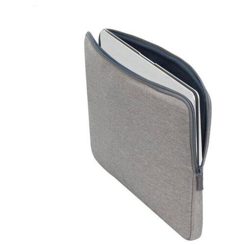 """RIVACASE 7703grey / Чехол для ноутбука до 133""""/Водоотталкивающая ткань/Универсальный чехол"""