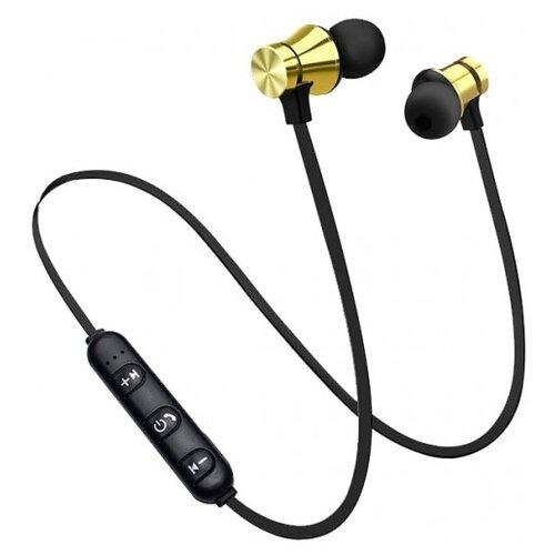 Беспроводные наушники BandRate Smart BRSM66 черный/золотой
