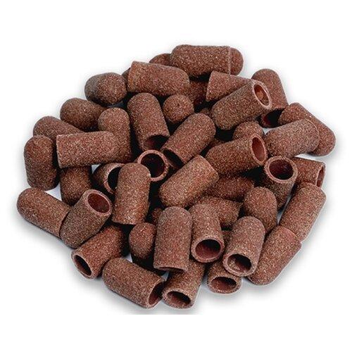 Колпачок Muhle Manikure шлифовальный тонкий 5 мм, 320 грит, 25000 об/мин, 100 шт., коричневый muhle manikure колпачок шлифовальный 13 мм тонкий 100 шт