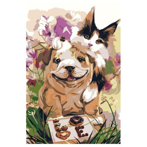 Купить Картина по номерам, 100 x 150, Z-AB41, Живопись по номерам , набор для раскрашивания, раскраска, Картины по номерам и контурам
