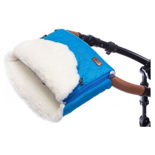 Купить Муфта меховая для коляски Nuovita Polare Bianco, Аксессуары для колясок и автокресел