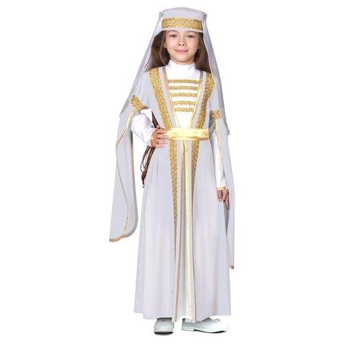 Купить Карнавальный костюм Страна Карнавалия Для лезгинки, для девочки, р. 32, рост 122-128 см, белый (3983201), Карнавальные костюмы