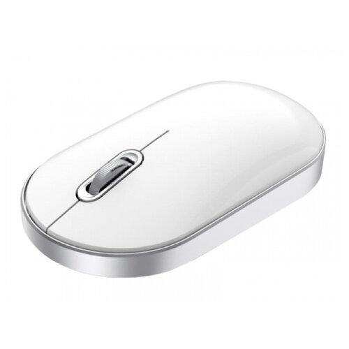 Беспроводная мышь Xiaomi MIIIW Dual Mode Portable Mouse Lite Version, белый беспроводная мышь xiaomi miiiw dual mode portable mouse lite version розовый