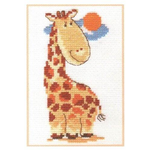 Купить 0-39 Набор для вышивания АЛИСА 'Жирафик' 7*13см, Алиса, Наборы для вышивания
