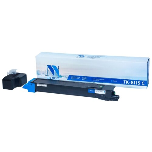 Фото - Картридж NV Print TK-8115 Cyan для Kyocera, совместимый картридж nv print tk 8335 cyan для kyocera совместимый