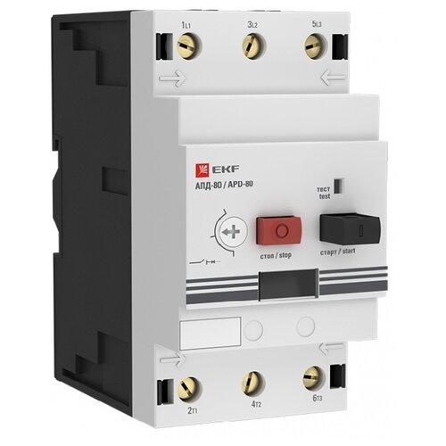 Софтстартер (устройство плавного пуска электродвигателя) EKF АПД-80 16-25А