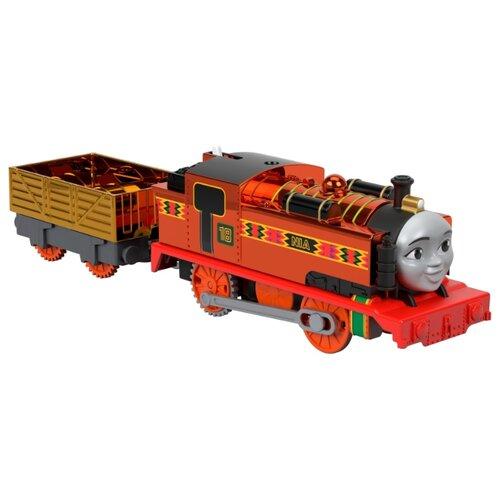 Купить Fisher-Price Поездной состав Праздничная Ния, серия TrackMaster, GLJ26, Наборы, локомотивы, вагоны