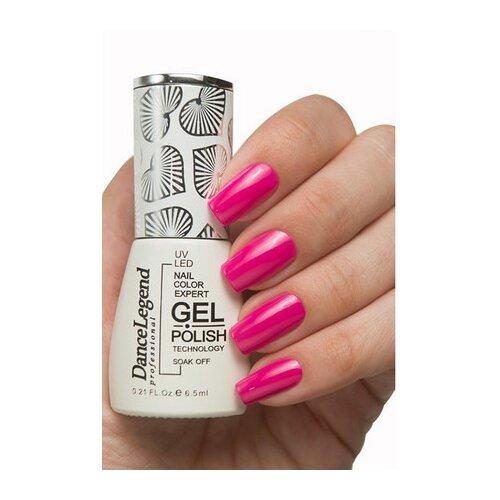 Купить Гель-лак для ногтей Dance Legend Pinky, 6.5 мл, LE129, heart skips a beet