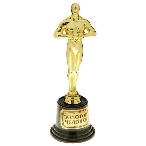 Статуэтка Yiwu Youda Import and Export Золотой человек 20 см, 879270 черный/золотистый статуэтка faberge oc33719 серый золотой черный