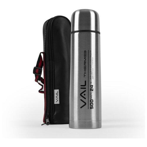 Термос VAIL VL-7012 узкое горло 0,5 л. в чехле