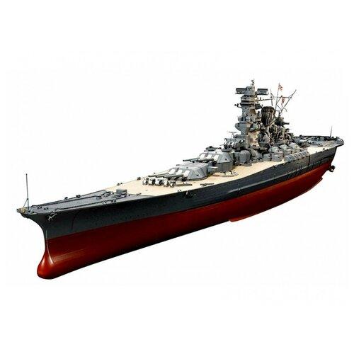 artwox 78014 battleship yamato tamiya black wooden deck aw10004a Сборная модель Tamiya Японский линкор Yamato (78025) 1:350