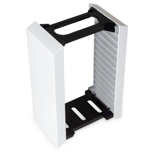 Вертикальная подставка-стойка MyPads для игровой приставки Playstation 5/ PS4/ Xbox One/ Nintendo Switch для хранения дисков