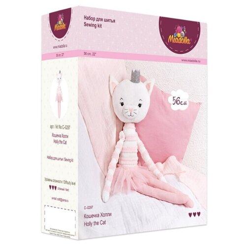 Купить Miadolla Набор для изготовления игрушки Кошечка Холли (C-0297), Изготовление кукол и игрушек