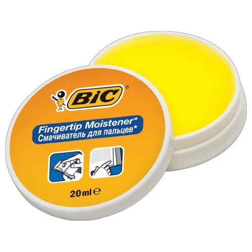 Купить Увлажнитель для пальцев BIC 897178 желтый, Аксессуары