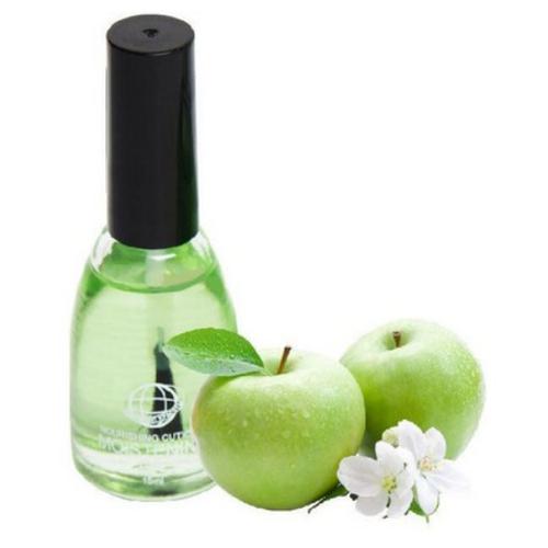Купить Масло Континент красоты для кутикулы Зеленое яблоко (с кисточкой), 15 мл