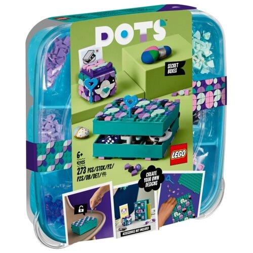 Купить Конструктор LEGO DOTS 41925 Набор для хранения секретов, Конструкторы