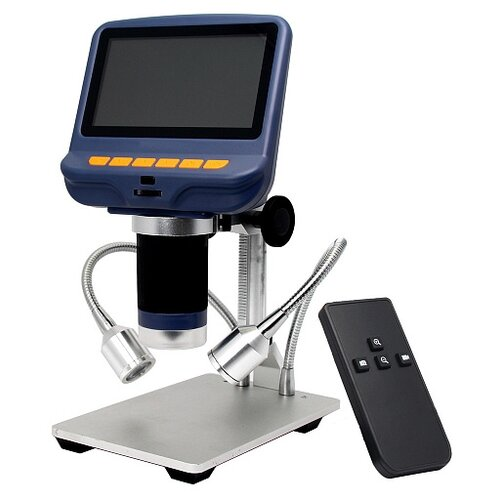 Фото - Микроскоп с дистанционным управлением Levenhuk DTX RC1 микроскоп levenhuk 500m монокулярный