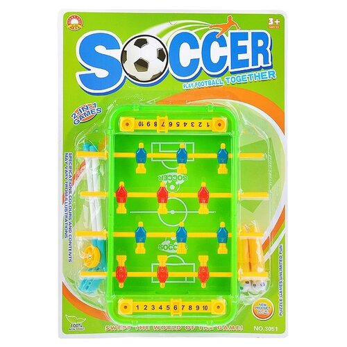 Купить Настольный футбол Oubaoloon на листе (3051), Настольный футбол, хоккей, бильярд