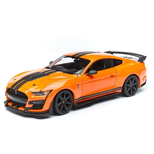 Купить Maisto Машинка Ford Shelby GT500 2020, 1:18 оранжевая, Машинки и техника