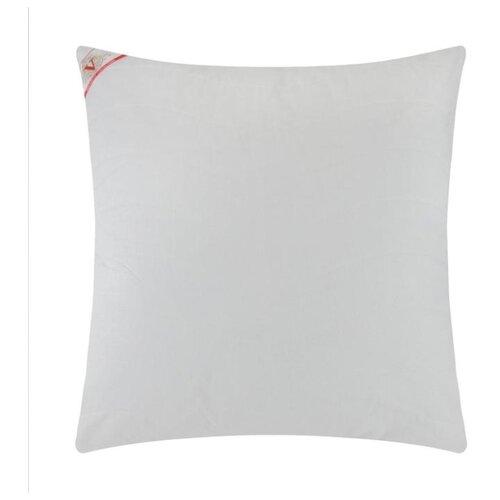 Подушка на молнии VESTA текстиль Бамбук, 50*70 см, белый, перкаль (хлопок 100%)