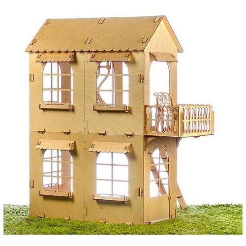 Кукольный дом Теремок средний размер