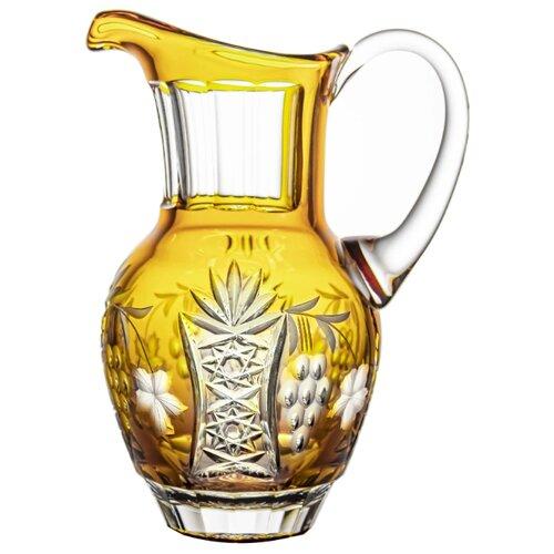 Кувшин Ajka Crystal Grape 1.2 л amber