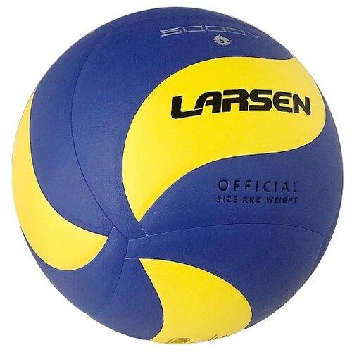 Волейбольный мяч Larsen VB-ECE-5000Y синий/желтый
