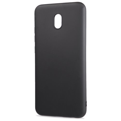 Фото - Матовый силиконовый чехол для Xiaomi RedMi 8A с покрытием софт-тач черный защитный чехол pero для xiaomi redmi 5 софт тач черный