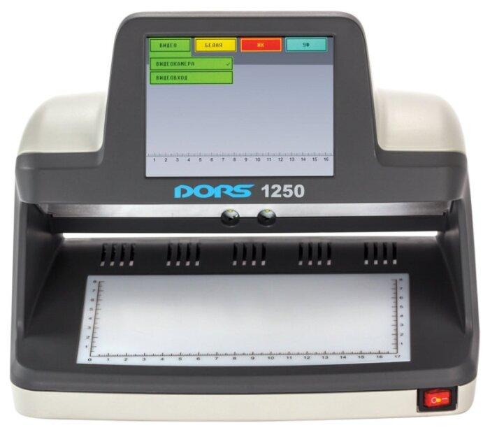 Просмотровый детектор банкнот DORS 1250