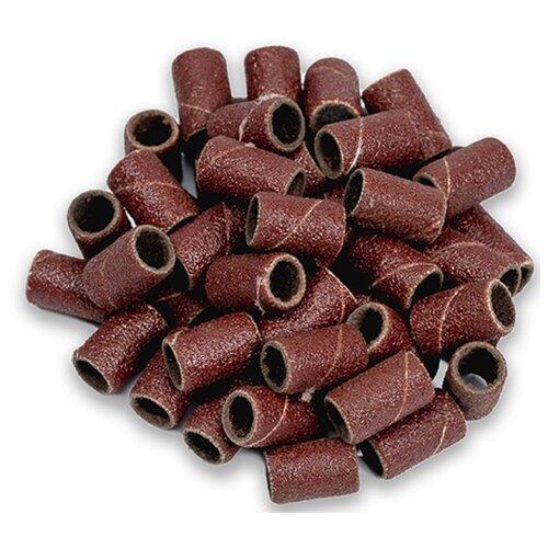 Колпачок Muhle Manikure шлифовальный тонкий, 6 мм, 320 грит, 100 шт., коричневый muhle manikure колпачок шлифовальный 13 мм тонкий 100 шт