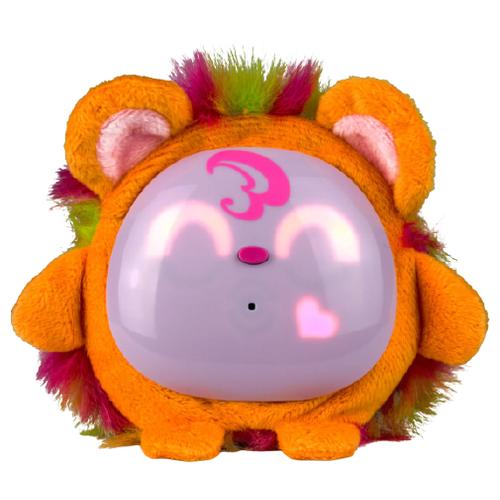 Купить Интерактивная мягкая игрушка Tiny Furries Fluffybot Honey оранжевый, Роботы и трансформеры
