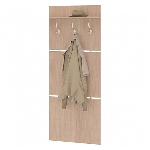 Вешалка для верхней одежды СОКОЛ ВШ-5.1 дуб беленый