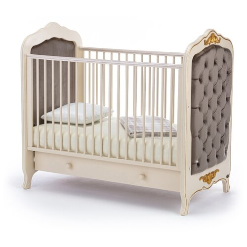 Кроватка Nuovita Fulgore (без качания) (классическая) слоновая кость кровати для подростков nuovita fulgore lungo