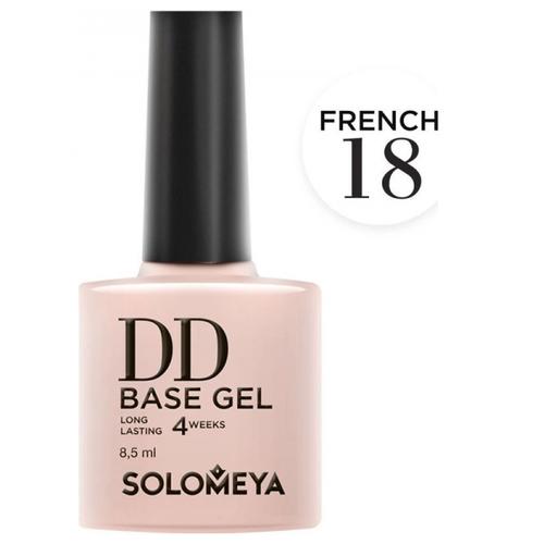 Купить Solomeya базовое покрытие DD Base Gel суперэластичное 8.5 мл French 18
