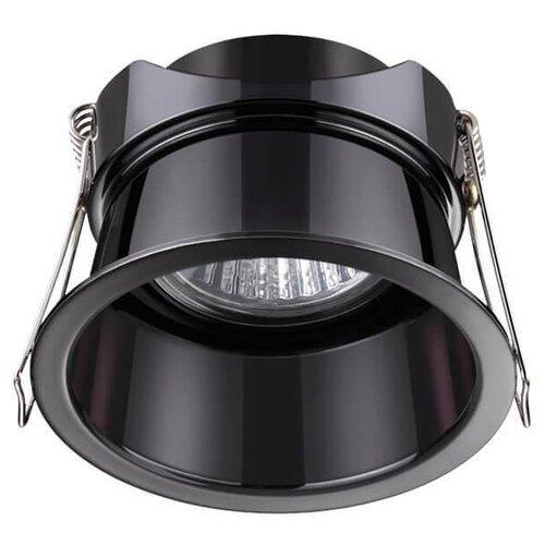 Фото - Novotech Светильник встраиваемый Novotech Butt 370449 Черный встраиваемый светильник novotech neviera 142 370168