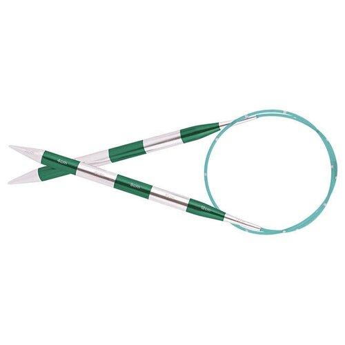 Купить Спицы Knit Pro SmartStix 42091, диаметр 5 мм, длина 80 см, серебристый/изумрудный