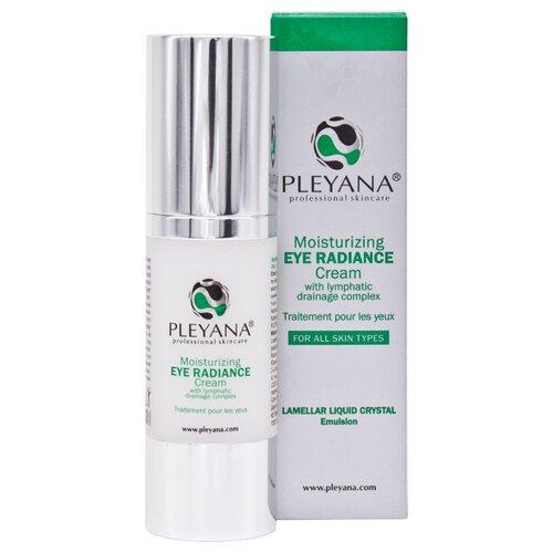 Купить Pleyana Крем увлажняющий для контура глаз Сияние с лимфодренажным комплексом 30 мл.