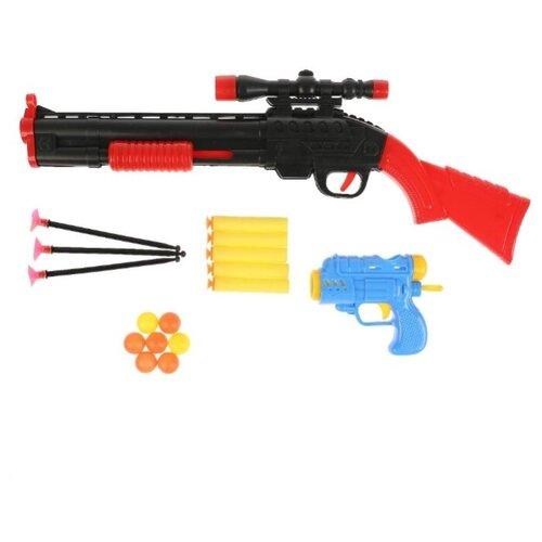 Купить Набор оружия Ружье и бластер (1807G161-R), Играем вместе, Игрушечное оружие и бластеры